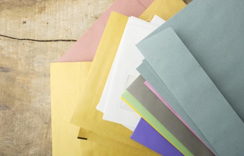 封筒・紙のサイズと切手代