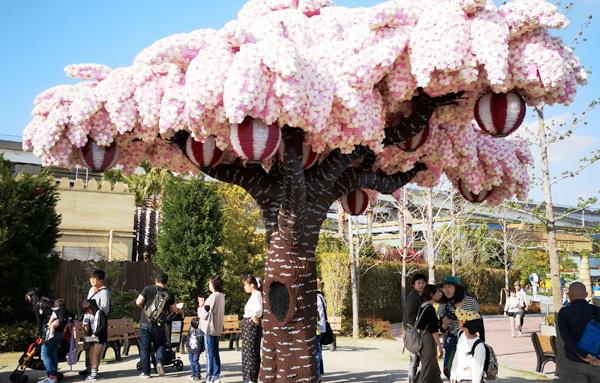 レゴランド レゴで作られた桜の木